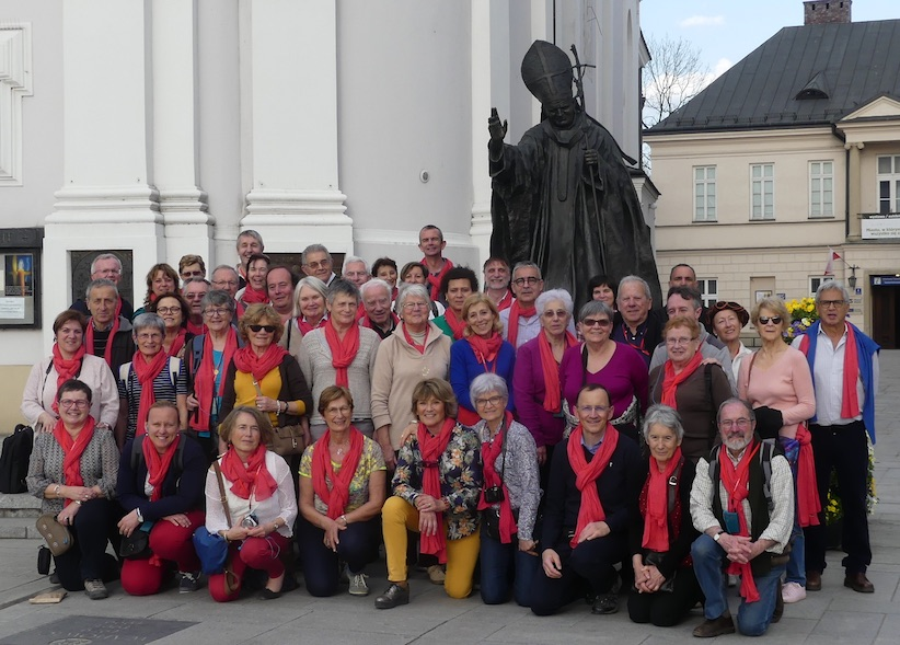 Groupe à Wadowice